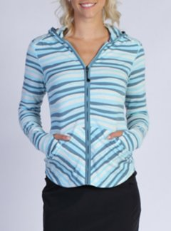 Techspressa Stripe Hoody, Tropez, medium