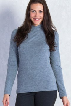 Wanderlux Turtleneck, Charcoal Heather, medium