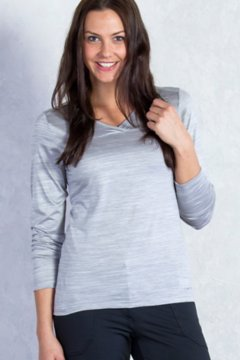 Terma V Neck, Grey Heather, medium