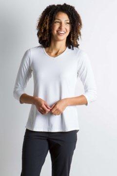 Wanderlux 3/4 Sleeve, White, medium