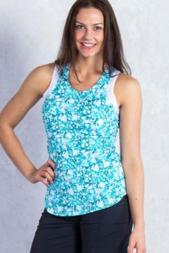 Sol Cool Print Tank, Deep Sea Print, medium