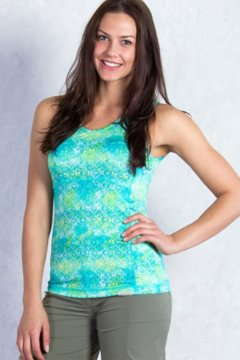 Wanderlux Print Tank, Deep Sea Print, medium