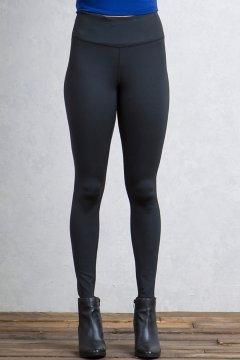 Zhanna Reversible Legging, Black/Charcoal Heather, medium