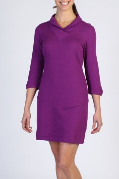 Fionna 3/4 Sleeve Dress, Nouveau, medium