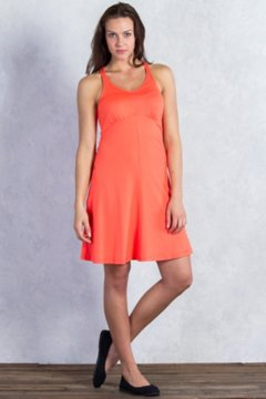 Wanderlux Tank Dress, Hot Coral, medium