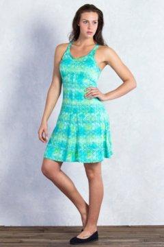 Wanderlux Print Tank Dress, Deep Sea Print, medium