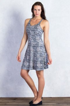 Wanderlux Print Tank Dress, Dk Pebble Print, medium