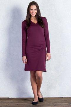 Wanderlux Draped Dress, Brandy, medium