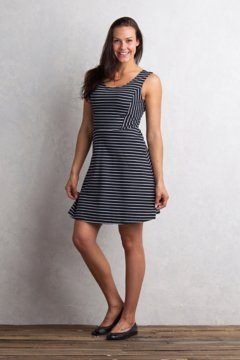 Odessa Tank Dress, Black/White, medium