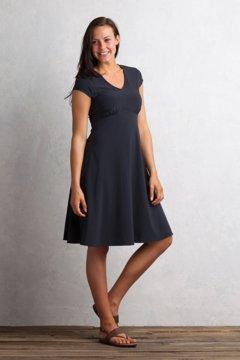 Kizmet Cap Sleeve Dress, Black, medium