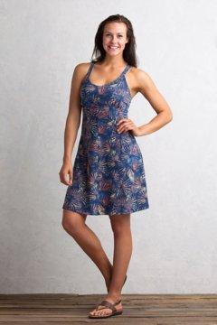 Wanderlux Print Tank Dress, Indigo, medium