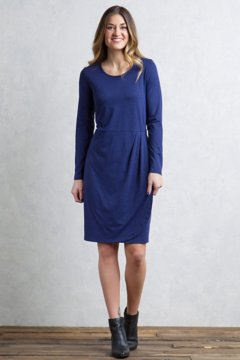 Wanderlux Tulipa Marl Dress, Blueprint Marl, medium
