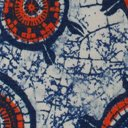 Wanderlux Cap Sleeve Midi Dress, Tile Print, swatch