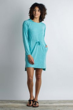 Sol Cool Kaliani Hoody Dress, Saltwater Heather, medium