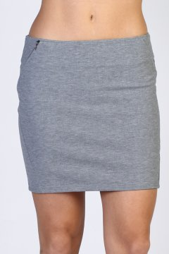 Minka Skirt, Charcoal Heather, medium
