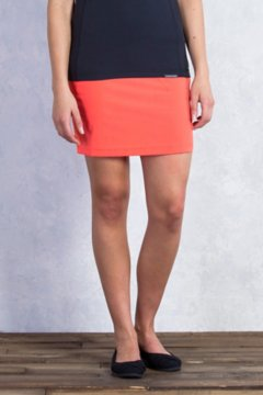 Sol Cool Skirt, Hot Coral, medium