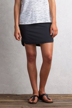 Sol Cool Skirt, Black, medium