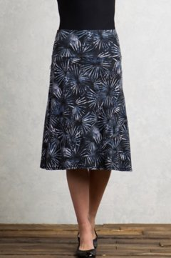 Wanderlux Convertible Print Skirt, Carbon, medium