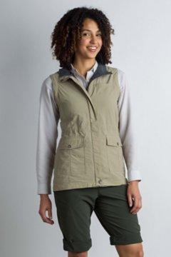 Sol Cool FlyQ Vest, Tawny, medium