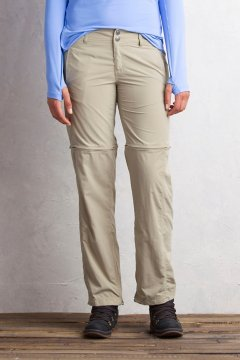 BugsAway Sol Cool Ampario Convertible Pant - Petite, Tawny, medium