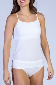 Give-N-Go Shelf Bra Camisole, White, medium