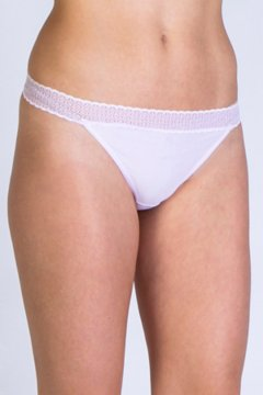Give-N-Go Lacy Thong, Lt Grape, medium