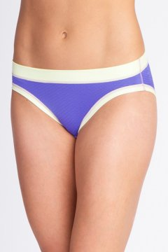 Give-N-Go Sport Mesh Hi Cut Brief, Blue Iris, medium