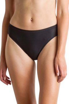 Give-N-Go Hi Cut Brief, Black, medium