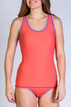Give-N-Go Sport Mesh Tank, Hot Coral, medium