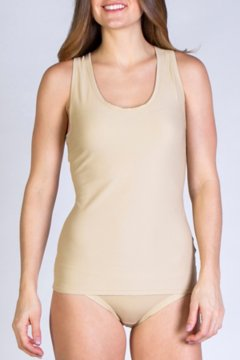 Give-N-Go Sport Mesh Tank, Nude, medium