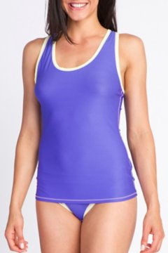 Give-N-Go Sport Mesh Tank, Blue Iris, medium
