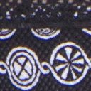 Give-N-Go Printed Lacy Low Rise Bikini, Black/Medallion, swatch