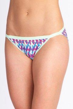 Give-N-Go Printed String Bikini, Mojito/Spliced Geo, medium