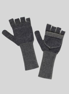 Cafenisto Convertible Mittens, Midnight, medium