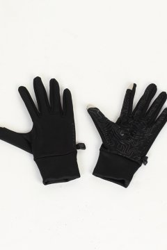 Touchscreen Stretch Gloves, Black, medium