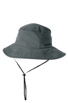 BugsAway Sol Cool Adventure Hat, Dk Pebble, medium