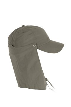 BugsAway Sol Cool Cape Hat, Cigar, medium