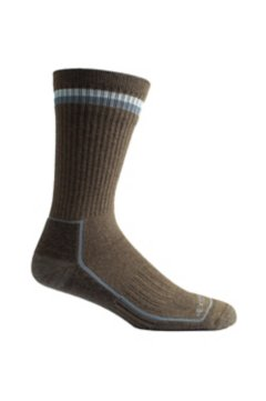 BugsAway Adventure Crew Sock, Cigar, medium