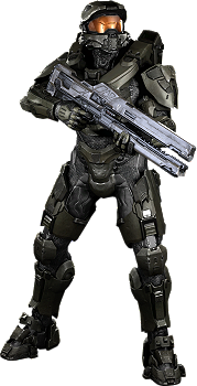Battle Ready Master Chief: Halo 4 Wall Decal