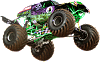 Grave Digger Wall Decal