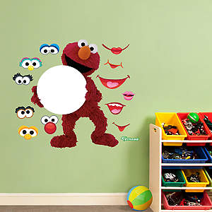 Elmo Dry Erase Board Fathead Wall Decal