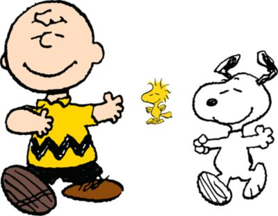 Charlie Brown, Snoopy and Woodstock Wall Decal