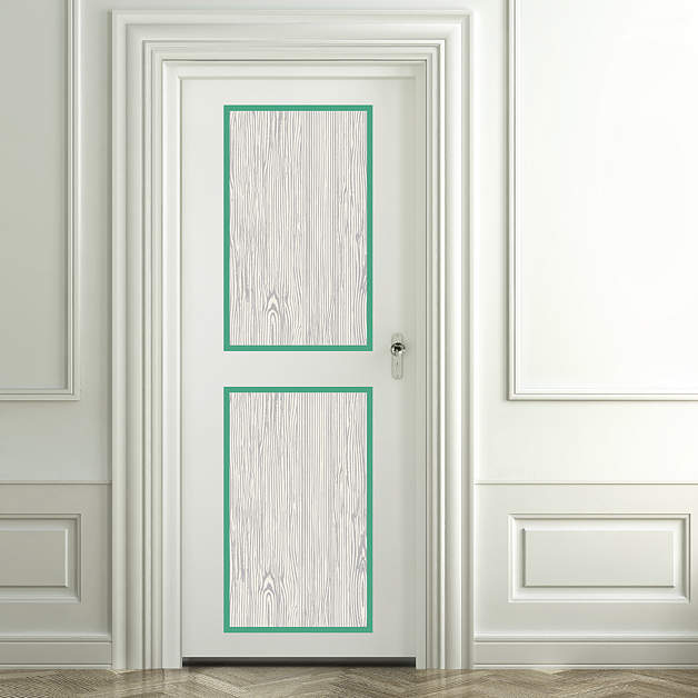 Shop door panels windows wall decals graphics - Sticker imitation bois ...