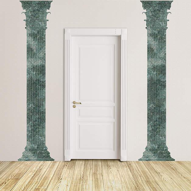 Marble Column Wall : Marble corinthian columns wall decal shop fathead for