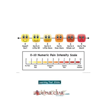 Pain Intensity Scale – Sign
