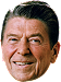 Ronald Reagan Big Head Cutout