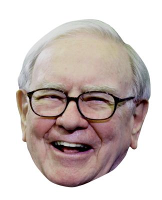 Warren Buffett Big Head Cutout