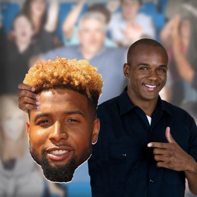 Odell Beckham Jr. Big Head