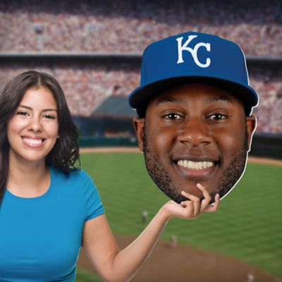 Lorenzo Cain Big Head