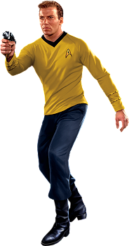 Captain James T. Kirk Wall Decal